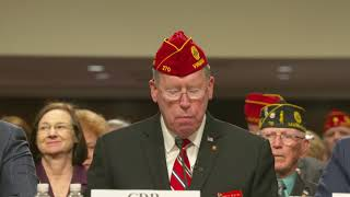 National Commander Reistad testifies to Congress