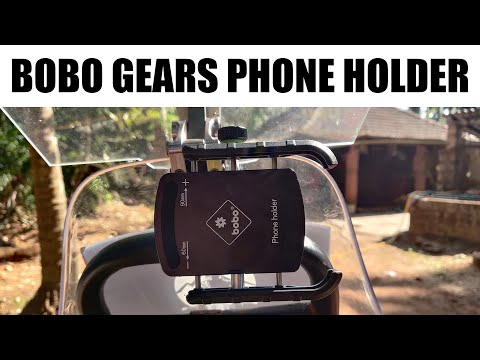Best Mobile holder for Bikes | Unboxing Bobo Gears Jaw Grip Mobile Holder
