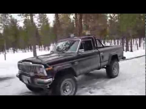"Lifted Jeep Cherokee >> 1981 Jeep J10 Laredo Update 6"" Lift - YouTube"