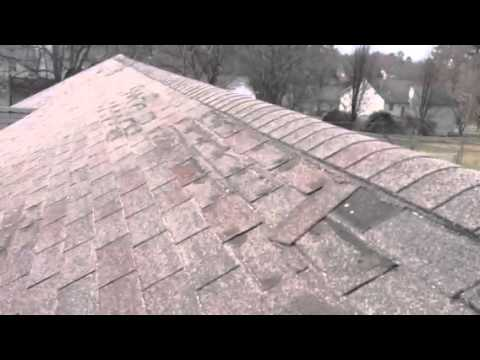 How To Fix Or Replace Torn Shingles Youtube