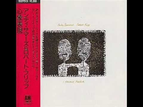 I ADVANCE MASKED ROBERT FRIPP-ANDY SUMMERS DISCO COMPLETO
