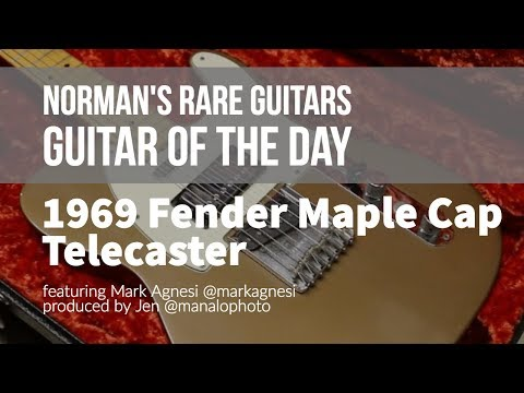 Norman's Rare Guitars - Guitar of the Day: 1969 Fender Maple Cap Telecaster