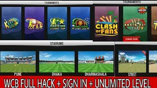 HOW TO HACK WCB NEWEST VERSION 1.6.6| HACK WORLD CRICKET BATTLE WITH SIGN IN