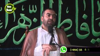 Hacı Rəşad cumə moizəsi vəhdət həftəsi 2015