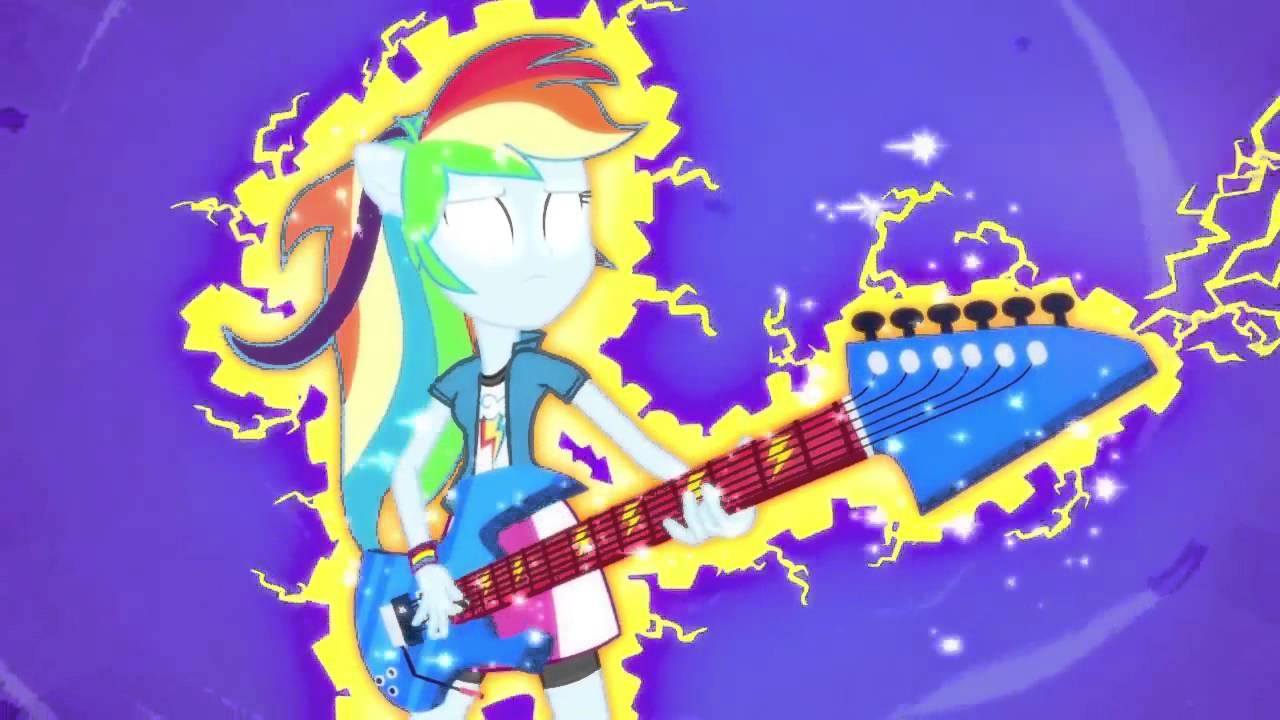 Mlp Fim Rainbow Rocks Rainbow Dash Transformation