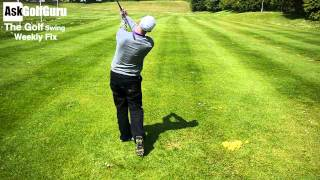 The Golf Swing Weekly Fix Hip Sway and Push Slice Shots