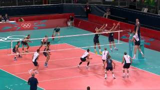 Clayton Stanley volleyball Spike Slow motion