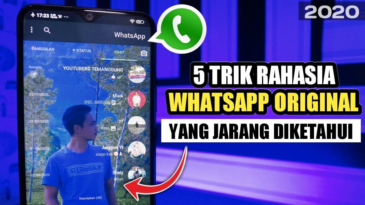 WAJIB TAU! 🔥5 Trik Whatsapp 2020   Yang Jarang Diketahui