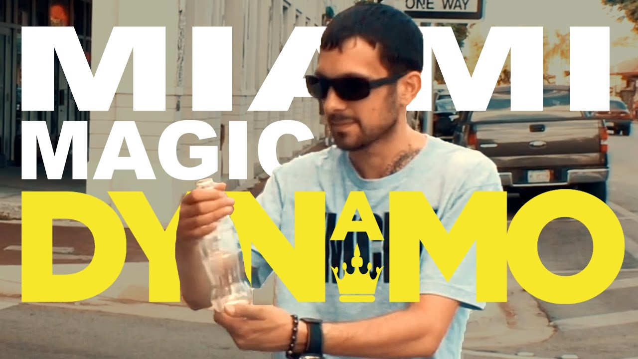 Watch the incredible DYNAMO blow a spectators mind on the streets of Miami!