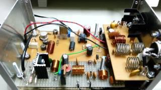Zorro para 27MHz CB 11m. Mini transmitter for radio fox hunting 11 meters band. Ver_2