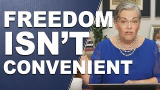 FREEDOM ISN'T CONVENIENT: It is still a choice away... by Lynette Zang