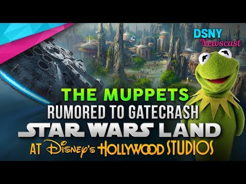 The Muppets Rumored To Gatecrash Star Wars Land at WDW - Disney News - 8/13/17
