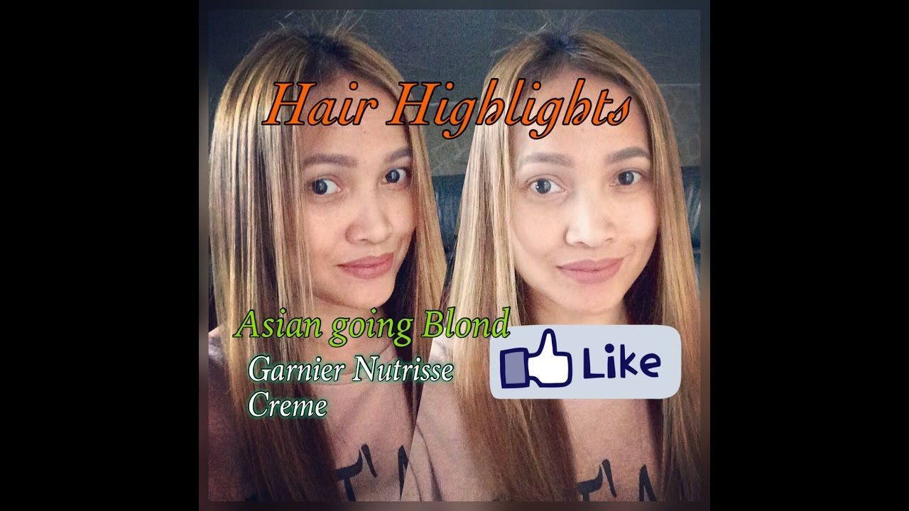 How To Apply Hair Highlights Garnier Nutrisse Creme Youtube