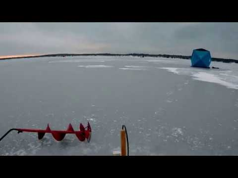 First Ice Of 2020 (Houghton Lake)