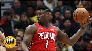 Zion Williamson is going to be a devastating passer someday - Brian Windhorst | The Jump