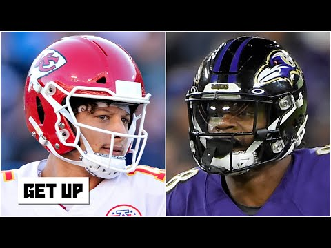 How would Lamar Jackson & Patrick Mahomes fare if the QBs switched teams? | Get Up