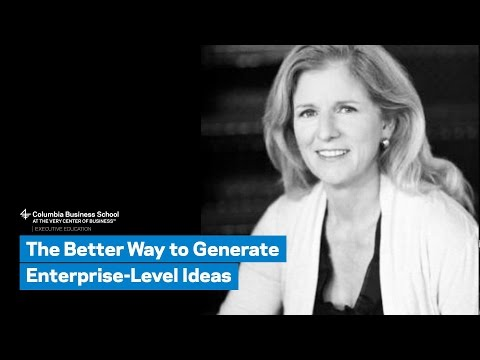 The Better Way to Generate Enterprise-Level Ideas