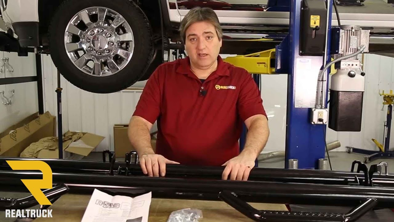 How To Install N Fab Hooped Wheel To Wheel Nerf Bars On A