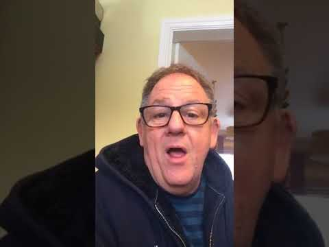 John Scott at home 18 March 2018