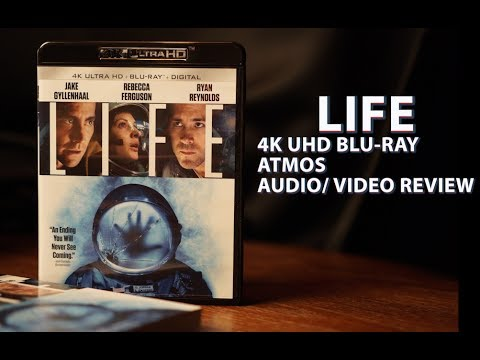 Life 4k Bluray Unboxing Atmos Audio/ Video Review