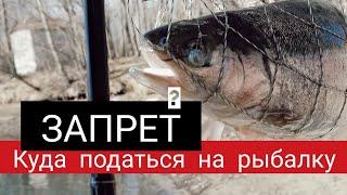 Запрет Куда податься на рыбалку