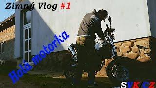 Zimný Vlog #1 - Holá motorka?