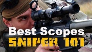 SNIPER 101 Part 22 - Scopes - Rex