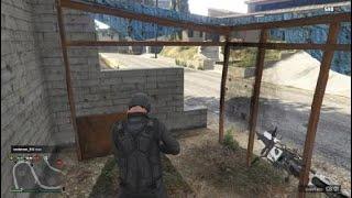 Grand Theft Auto V New wall breech