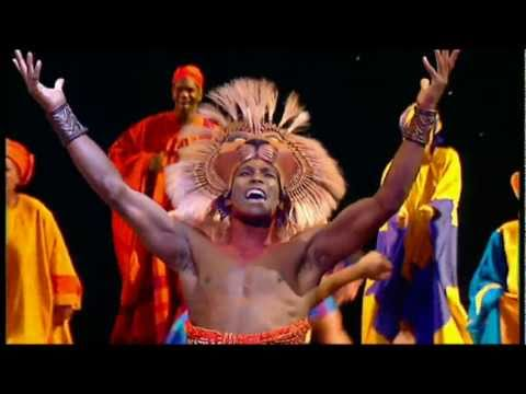 """""""He Lives in You (Reprise)"""" from THE LION KING, the Landmark Musical Event - 동영상"""