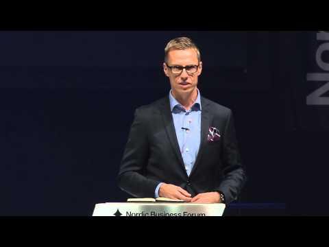 Nordic Business Forum 2013 - Alexander Stubb - The Art of Going International
