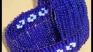 Мастер класс коляска из бисера  Master class carriage of beads