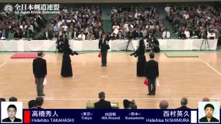 4th Round-Final Ippons 62nd All Japan Kendo Championship 2014
