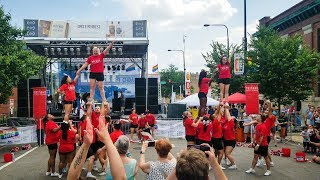 Chicago Spirit Brigade @ Chicago Pride Fest 2018