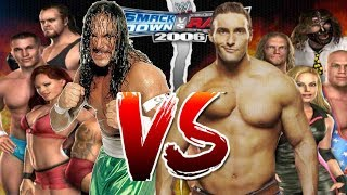 WWE Smackdown vs Raw 2006 Sabu CAW vs Chris Masters