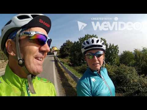 Cycling Tour Vlog Piedmont Italy Serra Morenica #wevideo by @fabulousport