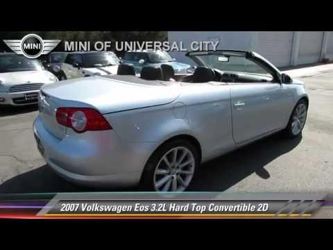 2007 Volkswagen Eos 3.2L Hard Top Convertible