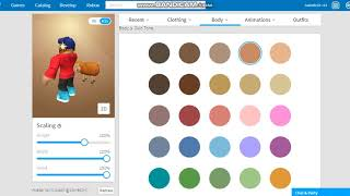 HOW TO CHANGE SKIN COLOR IN ROBLOX 2018 [RUNNING]