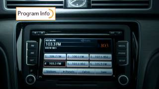 2014 VW Passat w/HD Radio™ Technology