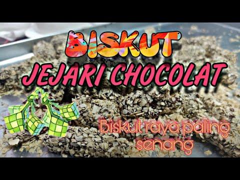 biskut-jejari-cokolat---paling-senang-dibuat-dan-enak