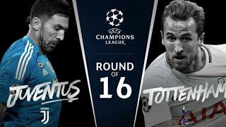 Juventus vs Tottenham ● UCL Rd of 16 Promo