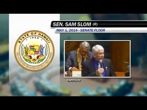 Sam Slom Sine Die Speech
