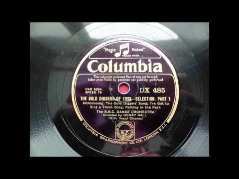 (1933) The Gold Diggers of 1933 - The B.B.C. Dance Orchestra