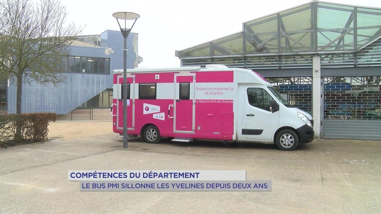 Yvelines | Compétences du département : le bus PMI sillonne les Yvelines depuis deux ans