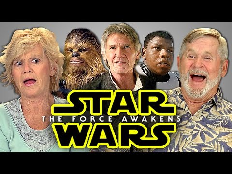 Elders React to Star Wars: The Force Awakens