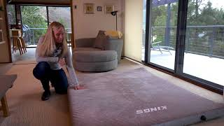 Adventure Kings Self Inflating Mattress Queen Size - Great for House Guests Too