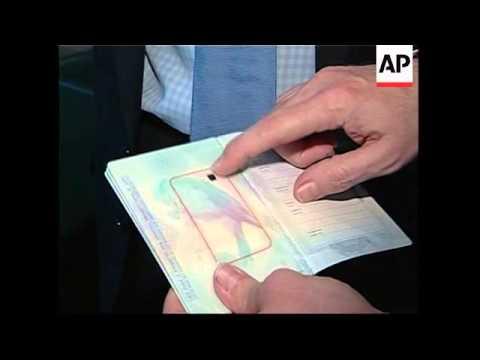 British Ambassador Launches New Encrypted Passport