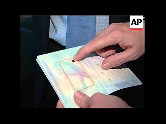 British Ambassador launches new encrypted passport #1