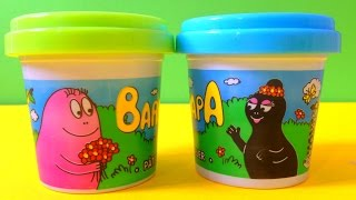 Barbapapa Playdoh Unboxing