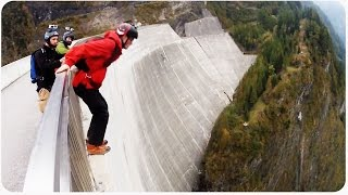 Incredible BASE Jump Compilation | EXTENDED