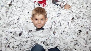 Бумажное Шоу VIP ( paper show)